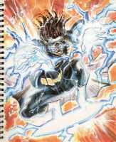 Sketch 08 : Static Shock by Cinar