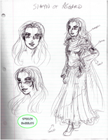 Sigyn design sketch by AmethystSadachbia
