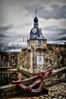 Old Town with Anchor by fotograafdonald