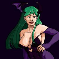 Morrigan Aensland by Love-Monstoh