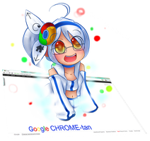 Google Chrome-tan by GeekyKitten64