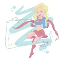 supergirlink and color by AndresPerezdelgado