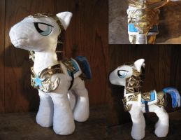 Royal Guard Pony: Nearly Done! by munchforlunch