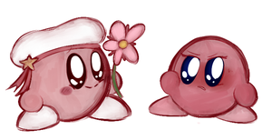 Kirby's Parents. by Miss-Lizzifer