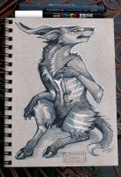 Inktober 8 by Key-Feathers