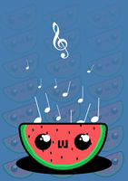 Musical Fruit by mymonicalmoostache