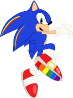 Rainbow Rocks - Sonic the Hedgehog by cooleevee759
