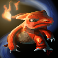 Weird Charmeleon Sketch of Weirdness by ComicMasterX