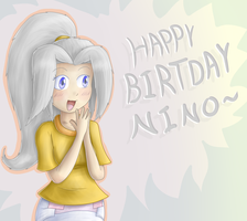 Happy Birthday Nino~ by Hira-Dontell