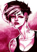 punk pink by sterna