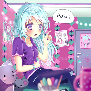 Pizza? by Yumenoki