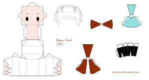 No.6 Papercraft - Sion by Larry-San