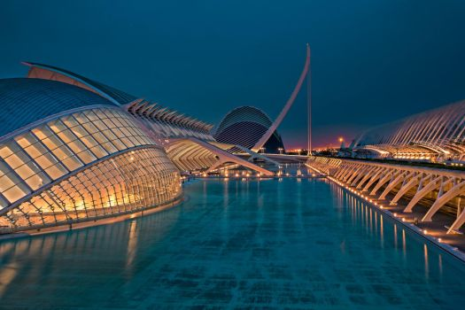 City of Arts and Sciences Valencia by hessbeck-fotografix