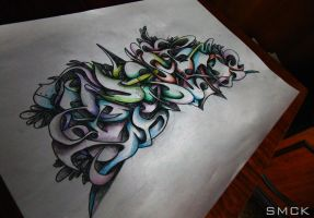 Dreams Graffiti Sketch by SmecKiN