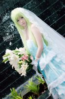 Cosplay - C.C. wedding by Korixxkairi
