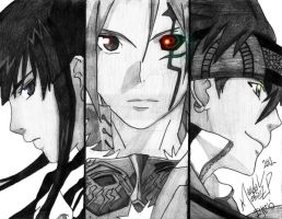 D Gray-Man by Marcechan