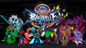 BlazBlue OC Central Fiction Cover by brunolin