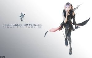 Lightning Returns: Final Fantasy XIII - Lumina by UxianXIII