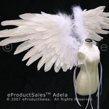 White ADELA bjd doll Wings by eProductSales