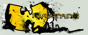Graffiti Wu-Tang Logo by PowetikWun