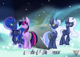 Collab - Caught in the Lifelong Battle by NaatTheArt