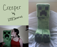 Creeper plush by lordseverus
