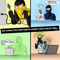 Why Mortal Kombat isn't online by Vail-Akatosh