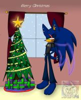 Merry Christmas - Seth by SonicSonic1