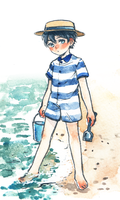 Beach Haru by b-snippet