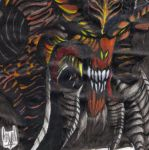 DIABLO III (Pencil/Marker) by TrollishHeart