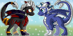 Icon commission + gift for 4-Elements-Dragon by Kodoku-no-Mirai