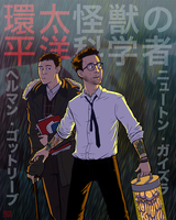 Gottlieb + Geiszler - Pacific Rim by Girl-on-the-Moon