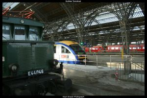 Endless Trainshed by HerrDrayer