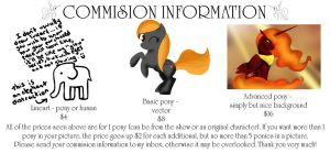 Commision information by dramioneforver