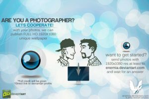 ARE YOU A PHOTOGRAPHER? by enemia