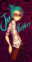 JAY FRITTER THE IMMORTAL CARTOON GOD by HydroCyanide