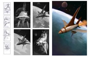Spaceships by OrcaOwl