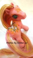 My little pony custom Mishka by AmbarJulieta