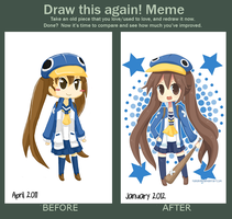 Draw This Again Meme 2 by hanahello