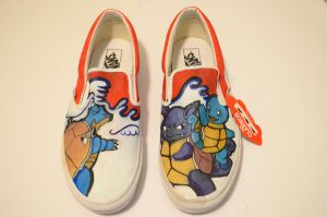 Squirtle Shoes 2012 by XxDyRexX