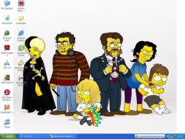 Simpsonized family by Ulla-Andy