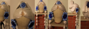 Completed Princess Yue Wig Commission by Miss-Star-Bucket