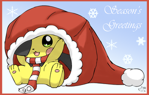 Seasons Greetings by pichu90