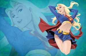 Supergirl - Wide Version by AndrewJHarmon