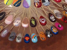 Nail Designs 4 by LovedPurpleAngelWife