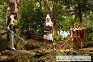 Leona the Radiant Dawn - Photo shoot 10/2012 by RosalindRed