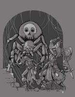Giant Spider! by cwalton73