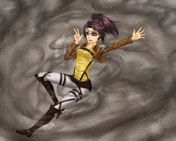 SnK - Hanji Zoe by GreeNissy