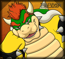 Lord Bowser by cosmictruffle