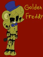 Golden Freddy Chao by ShinySmeargle